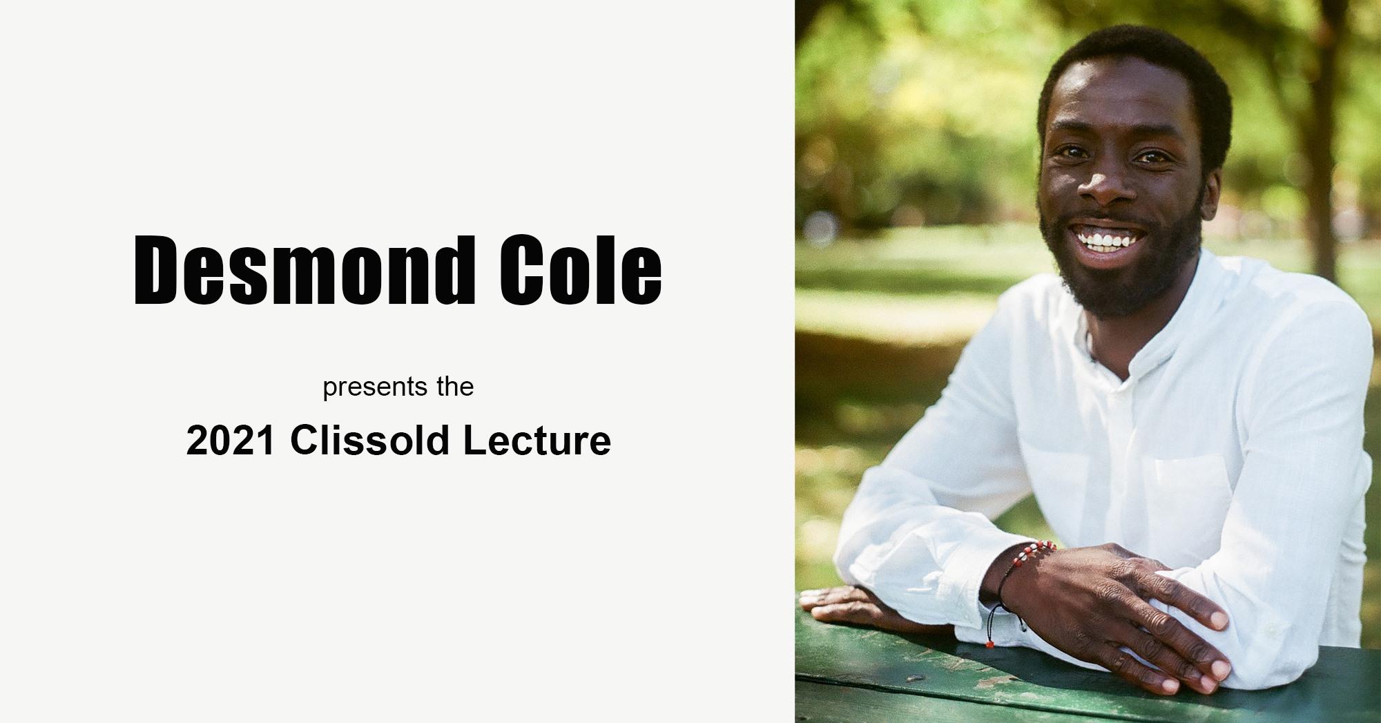 Desmond Cole, Clissold Lecture