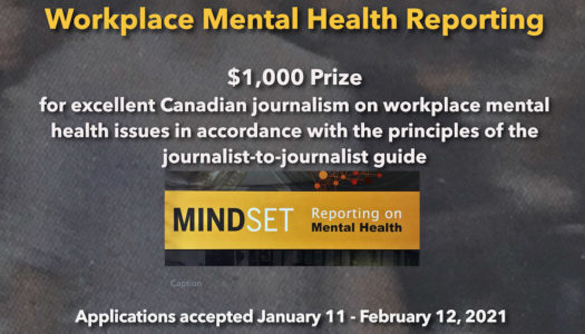 Applications for 2020 Mindset Award for Workplace Mental Health Reporting now open