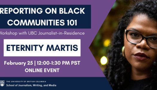 Reporting on Black Communities 101 with Eternity Martis