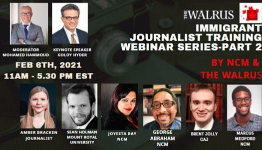 NCM-The Walrus Immigrant Journalist Training Webinar-2