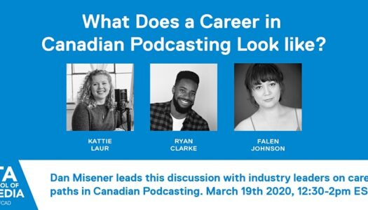 What Does a Career in Canadian Podcasting Look like?