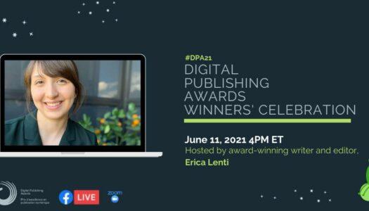 2021 Digital Publishing Awards Virtual Winners' Celebration