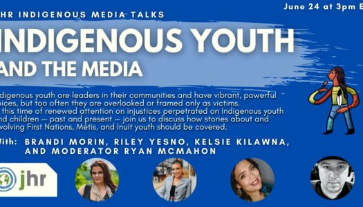 Indigenous Youth and the Media
