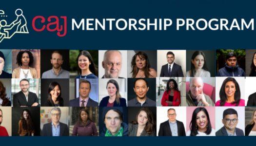 Apply for the CAJ Summer 2021 Mentorship Program