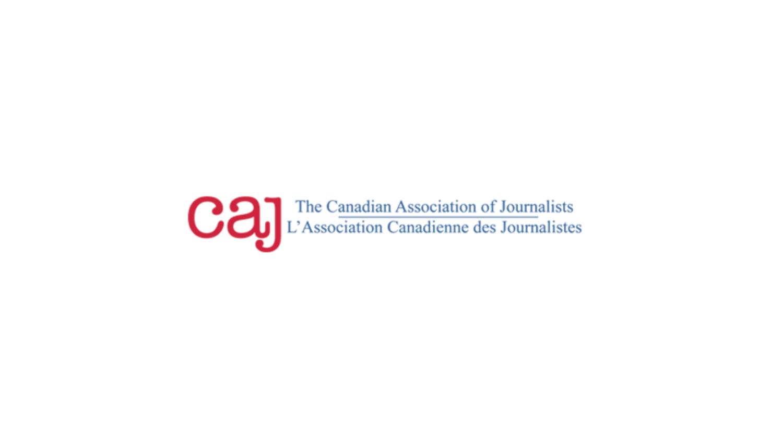 Canadian Association of Journalists logo