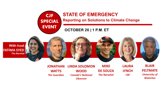 State of Emergency: Reporting on Solutions to Climate Change