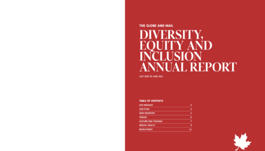 Globe and Mail launches diversity report